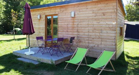location de chalet et caravane camping dans le lot